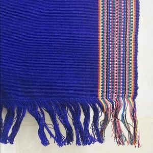 Handcrafted Woven Cotton Runner